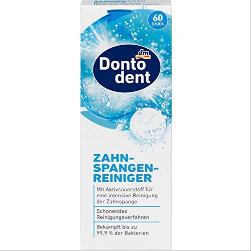 Dontodent- Zahnspangenreiniger-Tabs - mit Aktivsauerstoff