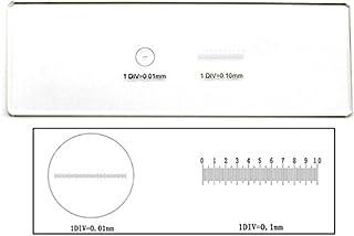 0.01mm 0.1mm顕微鏡対物ミクロメーター2種類のマイクロスケール