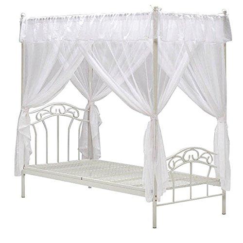 天蓋付きベッドの人気おすすめランキング5選【かわいいものから高級感のあるものまで】のサムネイル画像