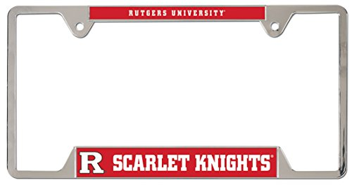 WinCraft Rutgers Scarlet Knights License Plate Frame, Metal