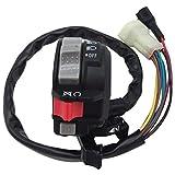 M MATI Left Handlebar Switch Control Engine Start Run Off Headlight for Yamaha YFM Big Bear 250/400 Grizzly 350/400/660 Kodiak 400/450 Wolverine 350/450 Raptor 350/660 Bruin 250/350 5LP-83973-01-00