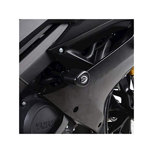 R&g Racing Sturzpads Schutz- Aero Schwarz Yamaha YZF-R125