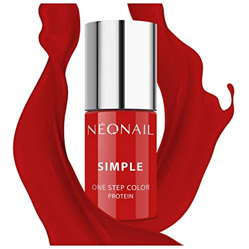 NEONAIL Rot XPRESS UV Nagellack 3in1 SIMPLE ONE STEP COLOR PROTEIN 7,2 ml ADORABLE 8126-7