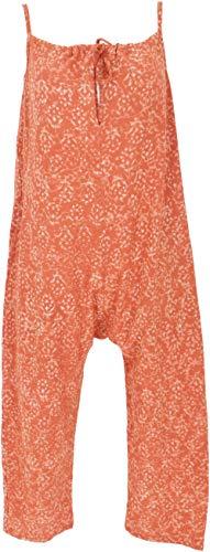 Guru-Shop, Zomerse Tuinbroek, Ethno Style Boho Oversized pak uit één Stuk, Jumpsuit, Oranje, Size:XL (16), Lange Broek