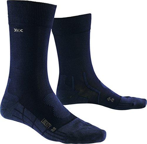 X-Socks - respirantes - liberty - adulte - Noir - 43/44