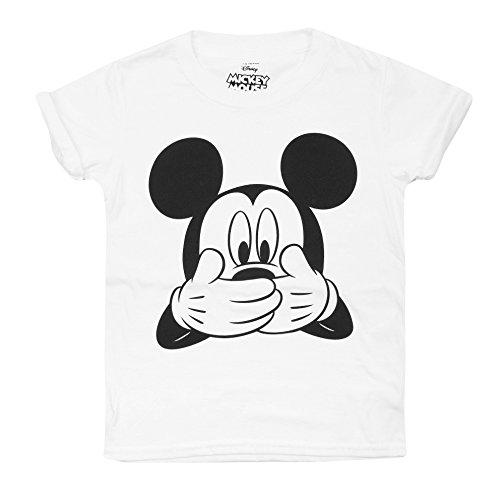 Disney Mickey Mouse meisjes muis lachen T-Shirt