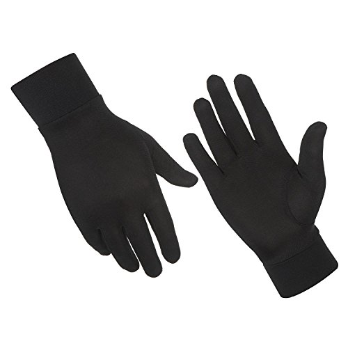 Alaska Bear Natural Silk Thermal Glove Liners Ski Bike Motorcycle Cycling Golf Liner Gloves