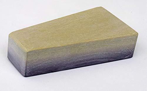 Schleifstein Wasserabziehstein Belgischer Brocken Grösse 7/51 cm² naturverwachsen