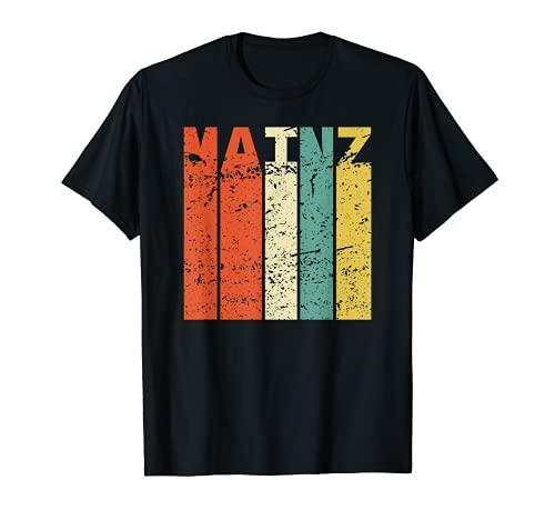 Retro Mainz Einwohner Stadt Vintage Mainzer T-Shirt