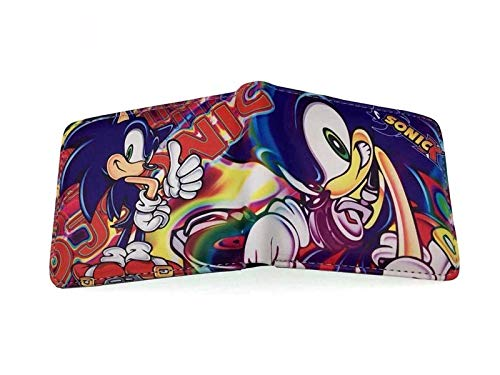 xunlei Sonic Wallet Sonic the hedgehog doll coin purse Sonic supersonic mouse wallet wallet student card package gift for men and women
