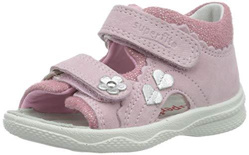 Superfit Baby Mädchen POLLY Sandalen, Pink (Rosa 55), 21 EU