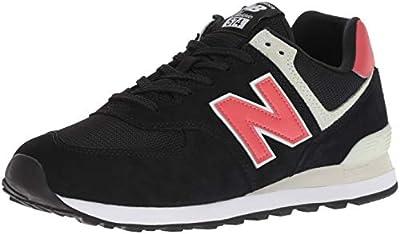 New Balance Men's 574 V2 Sneaker, Black/Black, 9.5 M US
