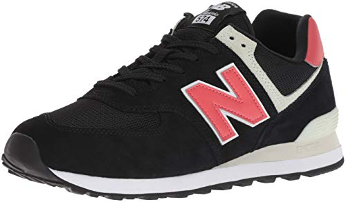 New Balance Men's 574 V2 Sneaker, Black/Black, 9.5 M US