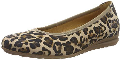 Gabor Shoes Damen Comfort Sport Geschlossene Ballerinas, Beige (Natur 90), 40 EU