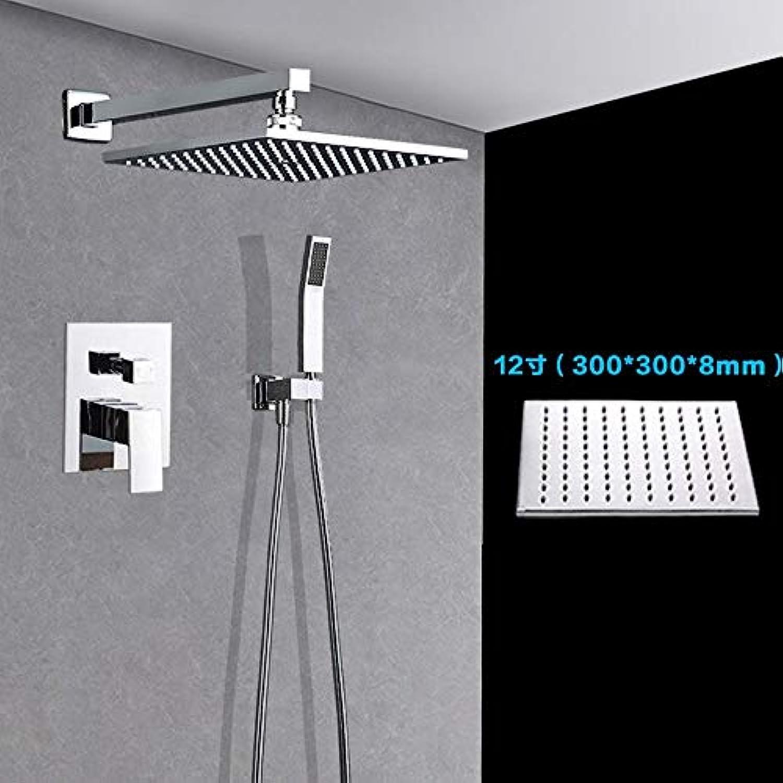 Lrsny dusche, warmes und kaltes Bad (dusche versteckte Embedded voller Kupfer gesetzt,12 - Zoll -