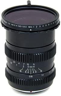 SLR Magic 25mm T0.95 Hyperprime Cine III Lens (MFT) with 52mm 0.4-1.8 Variable ND Filter