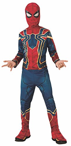 Rubies Iron Spider Infinity War - Disfraz  para niño, L (8-10 años)