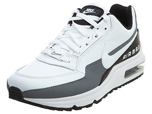 Nike Herren AIR MAX LTD 3 Laufschuh, White/White-Black-Cool Grey, 41 EU