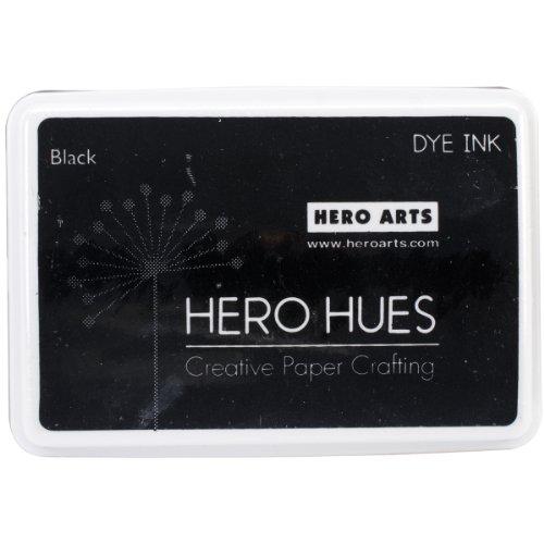 Hero Arts AF101 Hero Hues Ink Pad, Black, 3.5' x 2.25'