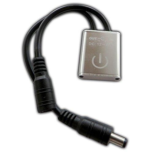 LED Touchdimmer - Dimmer Schalter zum dimmen Touch-Technik Regler für Streifen Strip Lichtleisten LED-Leisten