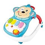 Meen Baby Walker, 0-2 Jahre Altes Kind Anti-Überschlag Baby Lernauto Multi-Funktion Mit Einstellbarer Geschwindigkeit Walker