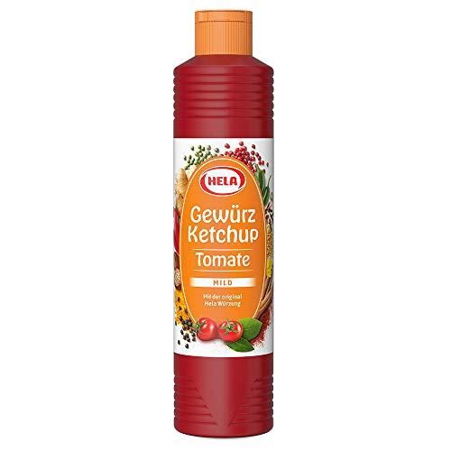 Hela Tomaten-Gewürz- Ketchup, 6er Pack (6 x 800 ml Tube)