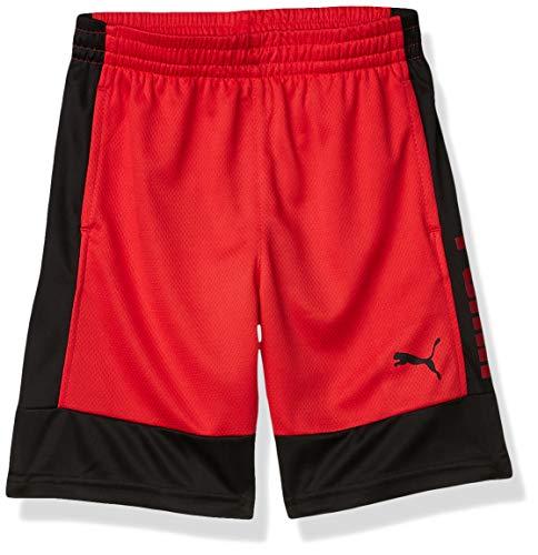 Puma - Pantaloncini da ragazzo -  Rosso -  Medium