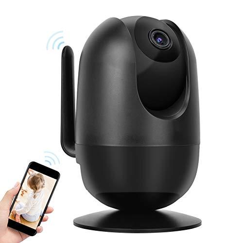 Cámara IP WiFi 1080P, IR-Cut Visión Nocturna Detección de Movimiento Cámara Web Monitor de Seguridad Smart Home Security Surveillance CAM Soporte para iOS y Android(yo)