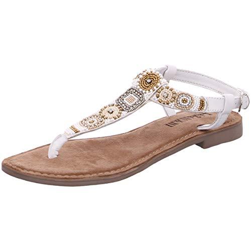 Lazamani dames sandalen 75631 wit 671487