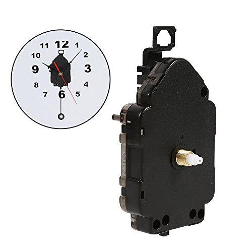 Garosa kwarts wandklok beweging op batterijen klok DIY reserveonderdelen (schachtlengte 0,51 inch / 13mm)
