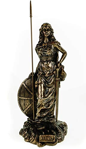 Freya nordische Göttin der Liebe Odin Figur