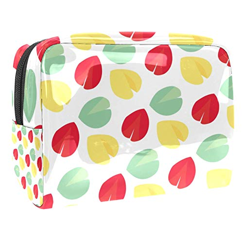 Fortune Cookie Pattern Multifunctional Makeup Cosmetic Bag (7.3x3x5.1in/18.5x7.5x13cm) Toiletry Bags for Girls