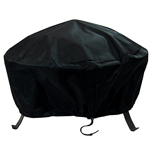 Our #3 Pick is the Sunnydaze Round Outdoor Fire Pit Cover