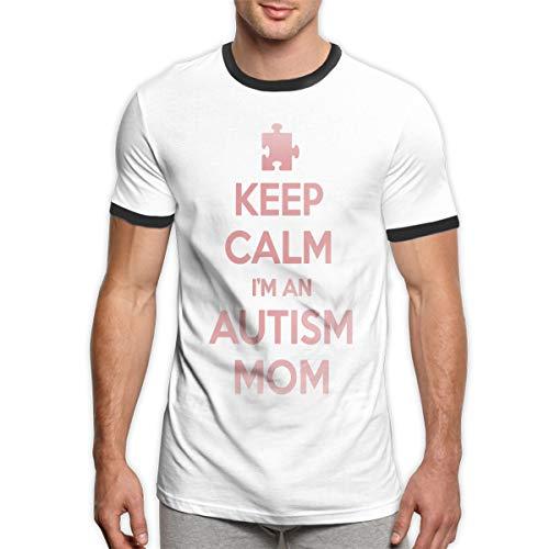 Herren T-Shirt Palmen Short Sleeved Longshirt Motiv Long Tee Schrift Muster