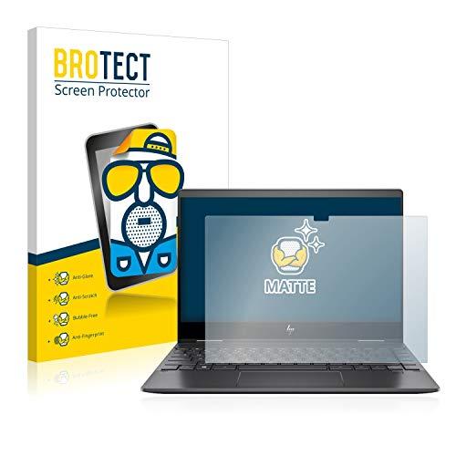 BROTECT Entspiegelungs-Schutzfolie kompatibel mit HP Envy x360 13-ar0131ng Bildschirmschutz-Folie Matt, Anti-Reflex, Anti-Fingerprint