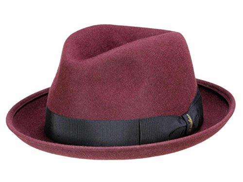 Borsalino Chapeau Player N° Art. 160224 Unisex - Rouge L/58-59