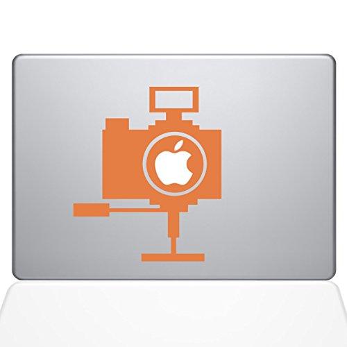 Die Aufkleber Guru 1656-mac-13a-p Point und Shoot Kamera Aufkleber Vinyl Aufkleber, 33cm MacBook Air, Orange