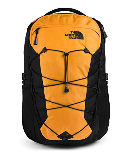 The North Face Borealis Laptop Backpack - Bookbag for Work, School, or Travel, Summit Gold Ripstop/TNF Black, One Size