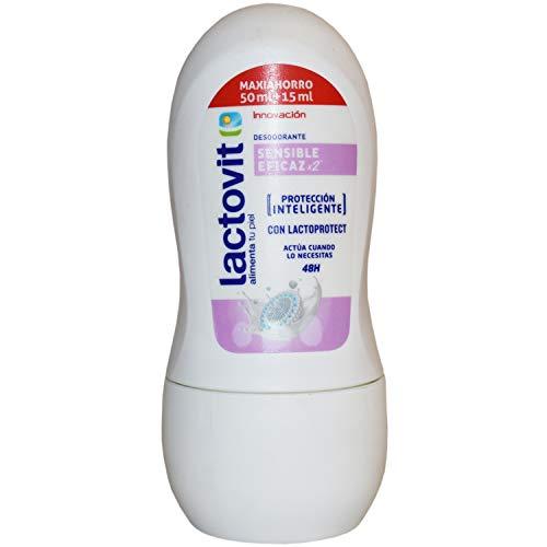 LACTOVIT desodorante piel sensible roll on 50 ml