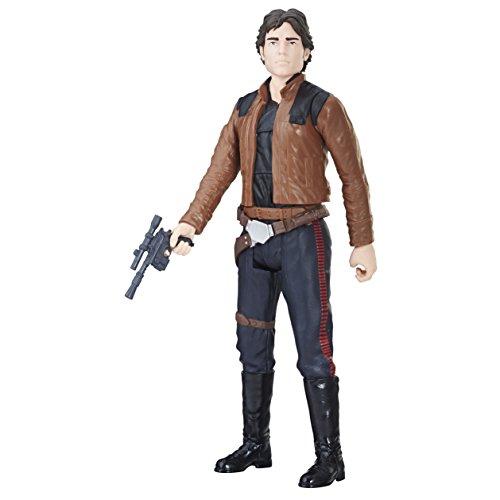 Star Wars Titan Han Solo Figur, E1176