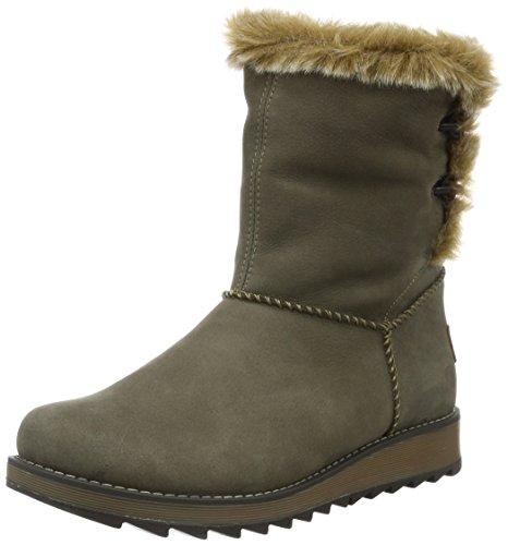 Remonte D8873 damskie buty zimowe, szary - Grau Bisam Mogano Steppe 25-40 EU