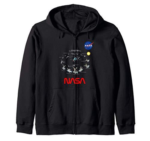 NASA Skylab Sistema Solare Arte Nello Spazio Regalo Ragazzo Felpa con Cappuccio