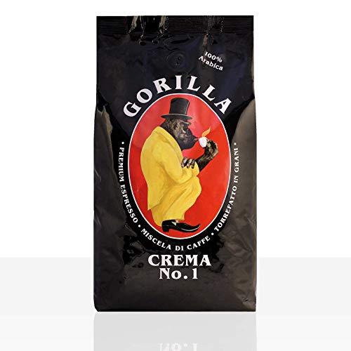 Gorilla Espresso Crema N° 1 Kaffee 12 x 1kg ganze Bohne
