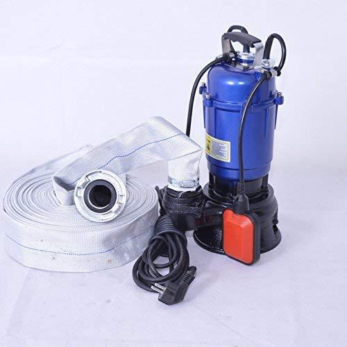 DAMBAT !! Profi !! Fäkalienpumpe Tauchpumpe Schmutzwasserpumpe 550 Watt Typ MAGNUM2900 + 20m 2