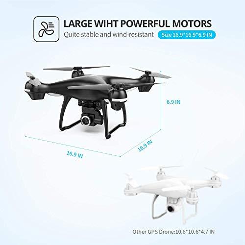 Drône Holy Stone HS100 avec Caméra HD 1080P 120°Grand Angle WiFi FPV,GPS Retour à La Maison,Maintien de l'altitude - 3