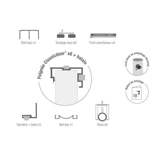 homewell conjunto Re coupables automontable de aluminio para