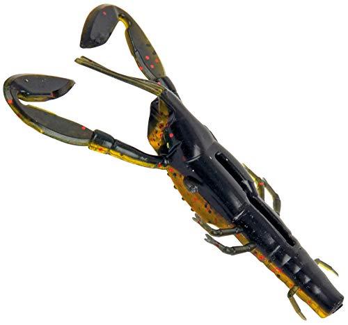 Fox Rage Critters - Gummikrebs zum Spinnangeln auf Barsche & Zander, Gummiköder zum Barschangeln & Zanderangeln, Barschköder, Farbe:Ultra UV dark oil, Länge:9cm