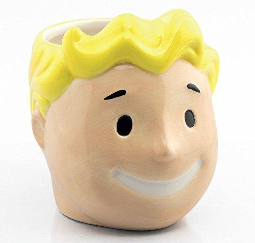 Fallout Tasse Vault Boy 3D - Multicolor, Bedruckt, aus Keramik, in attraktivem Geschenkkarton.