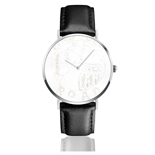 Find Your Road Men Wrist Watches Genuine Leather For Gents Teenagers Boys