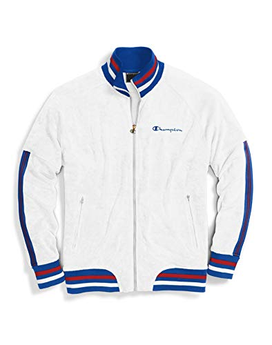 Champion LIFE Terry Warm Up Jacket White MD